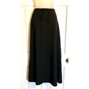 Old Navy Black A-Line Maxi Skirt
